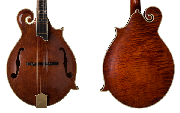 Heiden Stringed Instruments F-Style Aritst Mandolin, Redwood Top